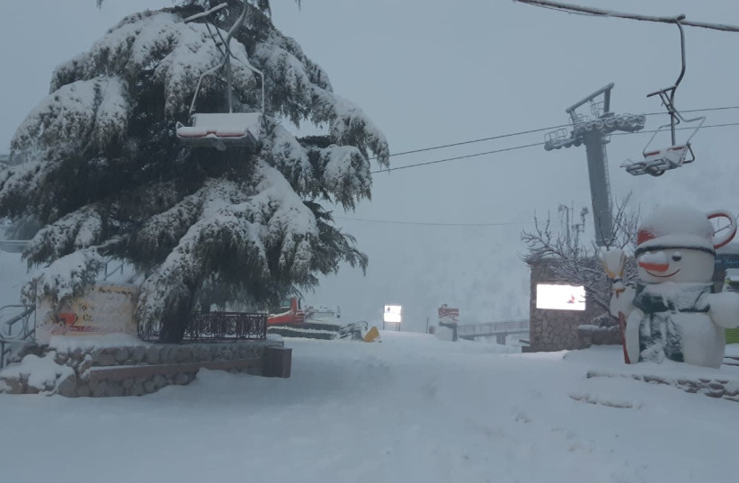 Israel experiences snow, rain as winter storms continue