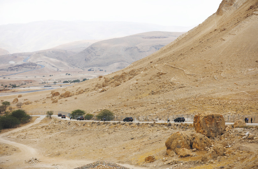 THE JORDAN VALLEY – calls to annex it are a provocative political act (photo credit: REUTERS)