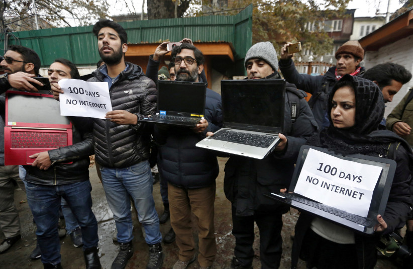 Limited internet to be restored in Kashmir, no access to social media - The Jerusalem Post