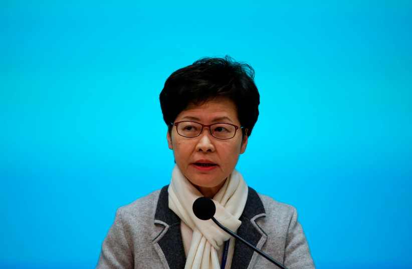 Hong Kong leader declares virus emergency, halts visits to mainland China - The Jerusalem Post