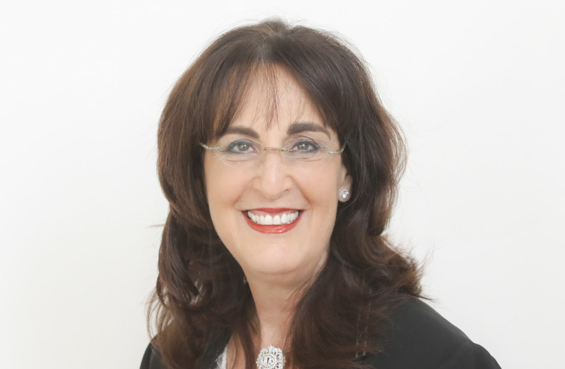 World WIZO Chairperson Mrs. Anita Friedman (photo credit: Courtesy)