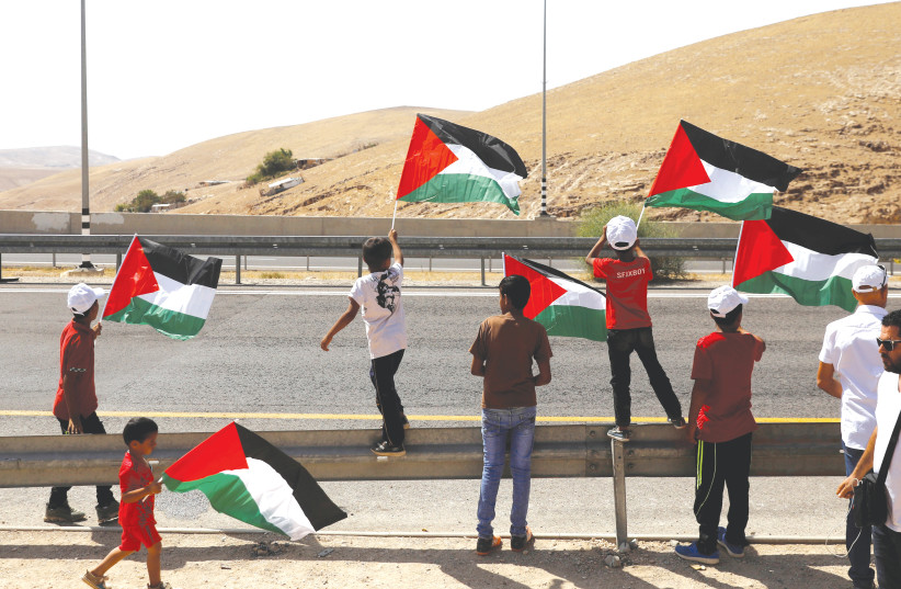 Could annexing Palestinian towns minus citizenship be apartheid?