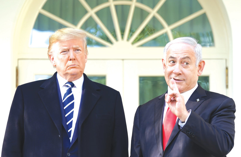 Trump congratulates Netanyahu on not-yet-formed government