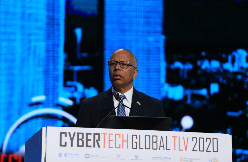 Lt. Gov. Boyd Rutherford at CyberTech (photo credit: Courtesy)