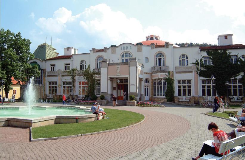 Piestany resort (photo credit: Courtesy)