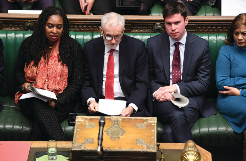 Jeremy Corbyn's place in the history of antisemitism - The Jerusalem Post