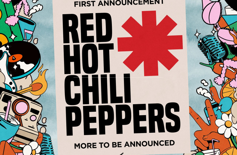 Red Hot Chili Pepper returning to Israel (photo credit: Courtesy)
