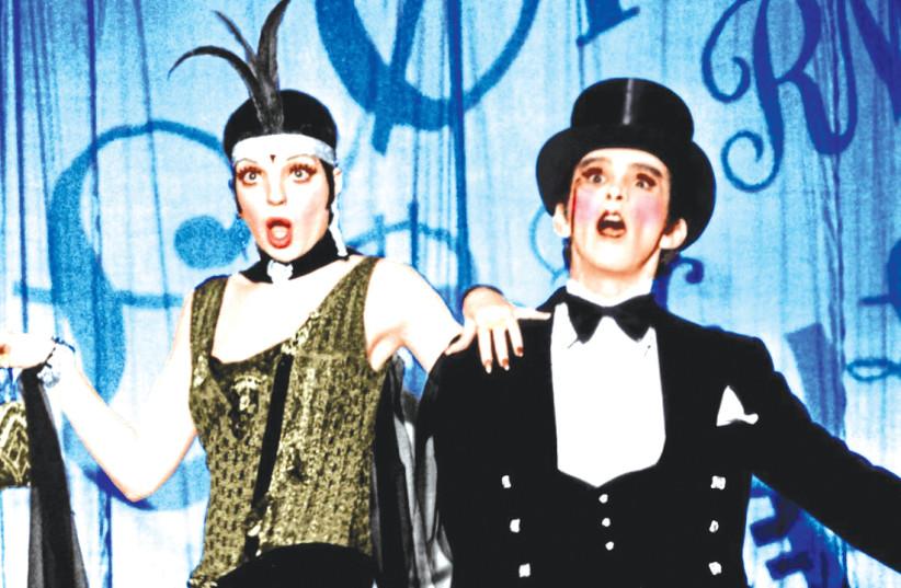 JOEL GREY and Liza Minnelli in 'Cabaret.' (photo credit: YOUTUBE)