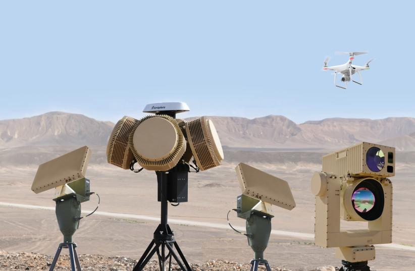 Système de défense laser Drone Dome Rafael (crédit photo: RAFAEL ADVANCED DEFENSE SYSTEMS)