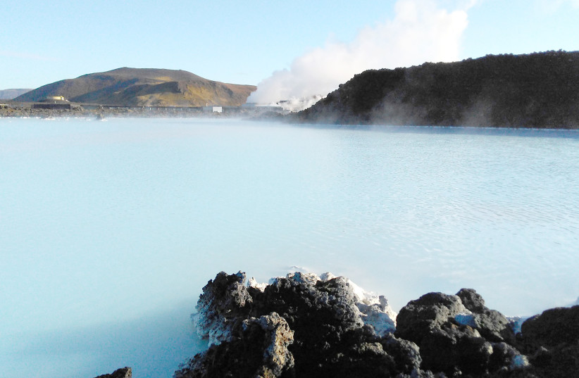 Iceland Blue Lagoon geothermal spa (photo credit: Wikimedia Commons)