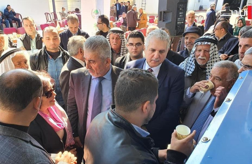 Israeli Water Technology Inaugurated in Gaza To Serve Needy Residents (photo credit: DAMOUR FOR COMMUNITY DEVELOPMENT)