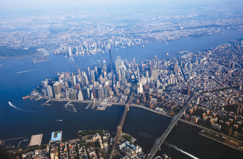 FOR NEW YORK City, the financial capital of the world, cyberattacks have always posed a major threat. (photo credit: LUCA RAJNA/PROGETTI FOTOGRAFICI)