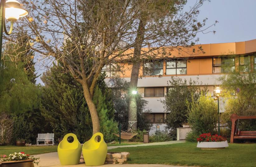 NEVE ILAN C HOTEL provides a luxury stay in a convenient location (photo credit: GARY ROZNIKOVSKI)