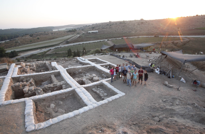 Temple at Tel Lachish (photo credit: COURTESY OF THE FOURTH EXPEDITION TO LACHISH)