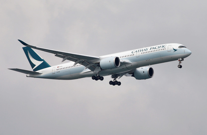 Cathay Pacific to halt Hong Kong-Israel flights amid coronavirus fears