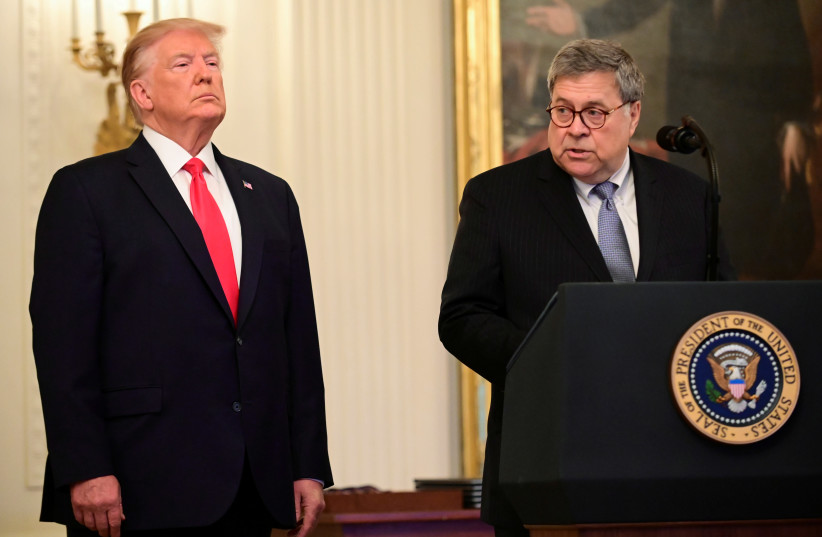 US Attorney-General Barr steps down as Trump election defeat confirmed