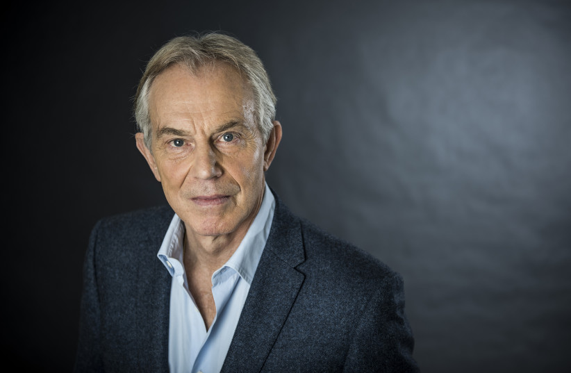 Tony Blair, Executive Chairman of the Institute for Global Change and former prime minister of Great Britain and Northern Ireland (photo credit: THE TONY BLAIR INSTITUTE FOR GLOBAL CHANGE)