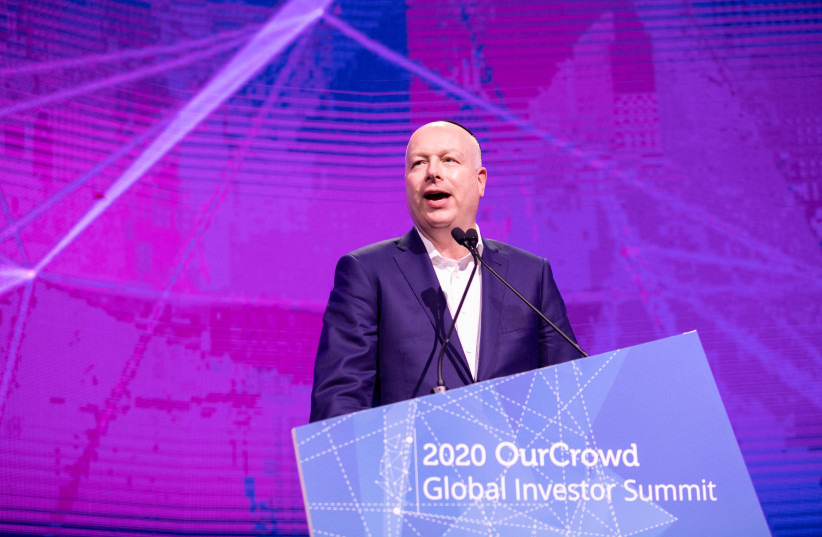 Jason Greenblatt at the 2020 OurCrowd Global Investor Summit (photo credit: OURCROWD)