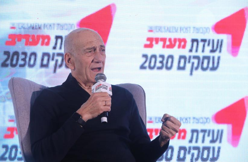 Former prime minister Ehud Olmert: Liar Netanyahu's career is over