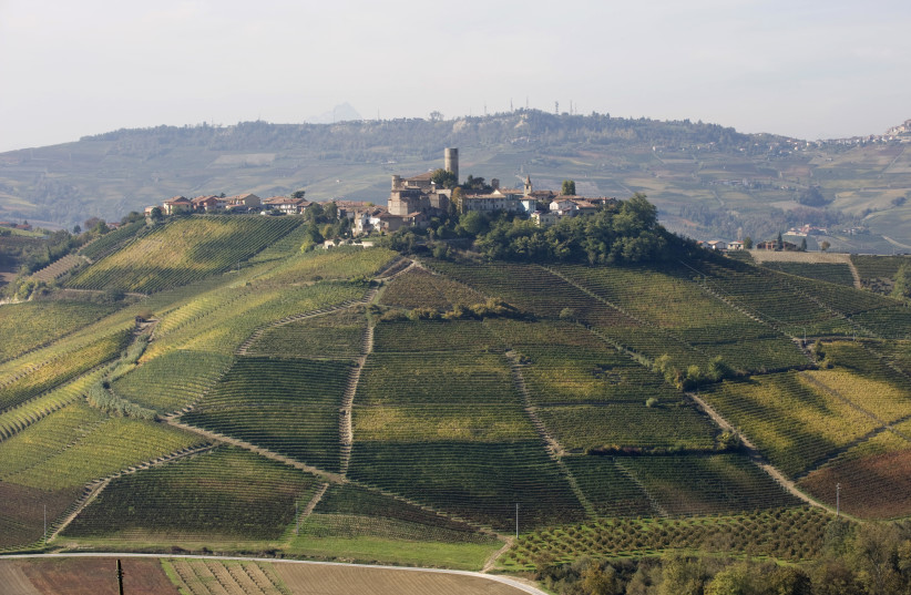 THE WINERY is situated in a beautiful village surrounded by vineyards in the heart of the Barolo.  (photo credit: Courtesy)