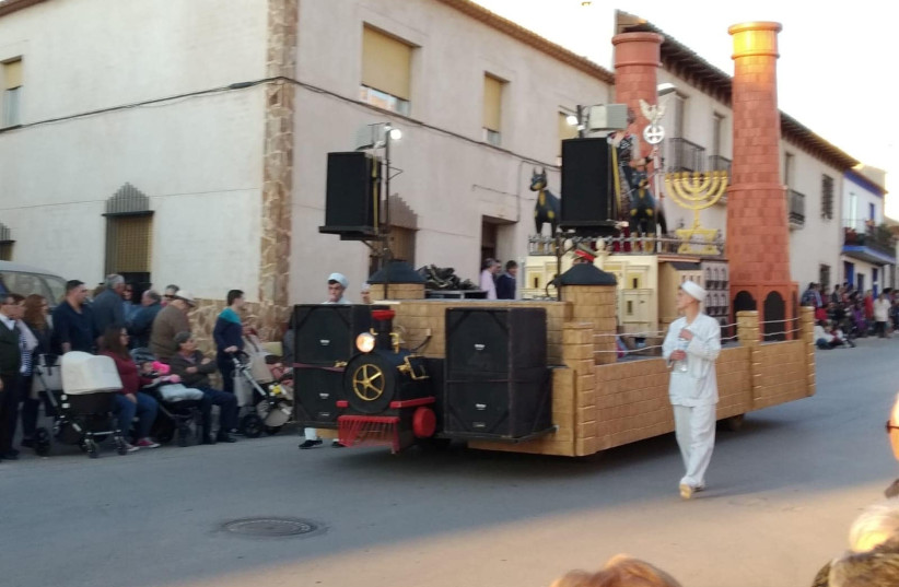 Spanish carnival apologizes for antisemitic Holocaust-themed parade
