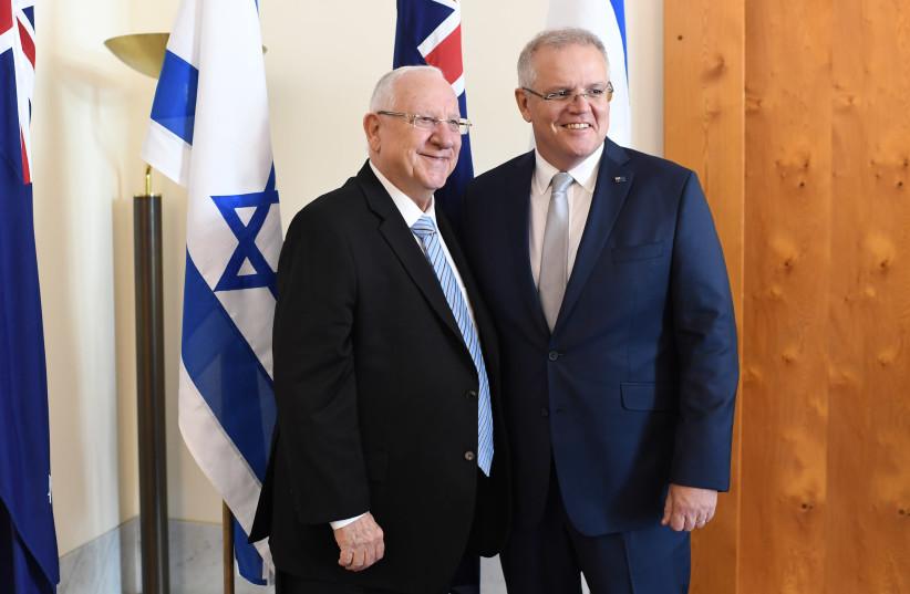 President Rivlin will not be quarantined following Australia trip