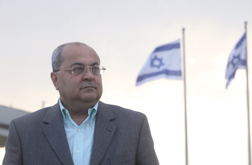 AHMAD TIBI: When he [Netanyahu] says 'Ahmad Tibi,' he means Ahmad the Arab. (photo credit: MARC ISRAEL SELLEM/THE JERUSALEM POST)