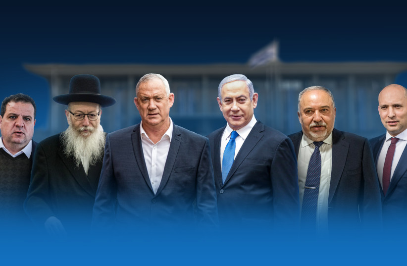 Israel goes to the polls, March 2, 2020.  (photo credit: JERUSALEM POST)