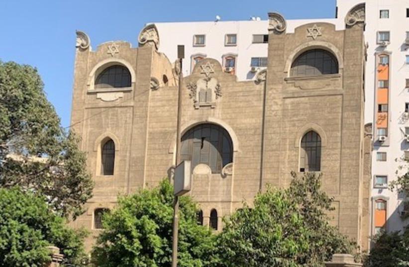 Moshe Der'i Synagogue in Cairo (photo credit: COURTESY OF YORAM MEITAL)