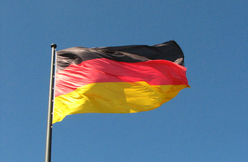 Flag of Germany (photo credit: FDECOMITE/FLICKR)