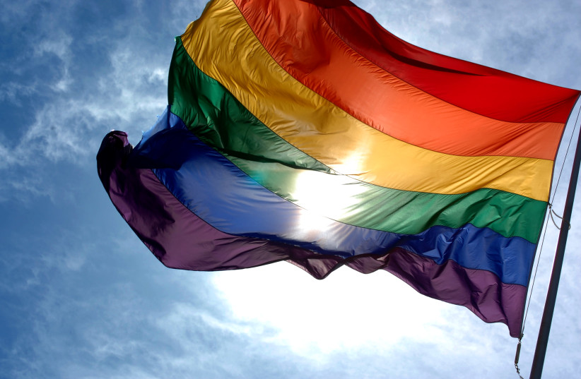 LGBTQ flag (photo credit: Wikimedia Commons)