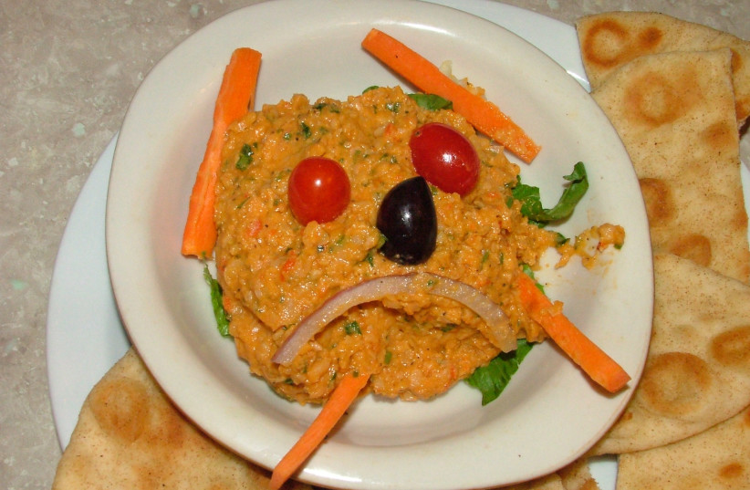 THE HUMMUS War has affected this melancholy plate of chickpea delights. (photo credit: FLICKR)