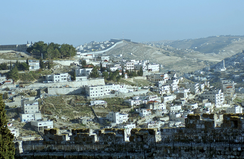 A PANORAMIC view of east Jerusalem. (photo credit: Wikimedia Commons)