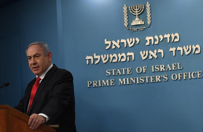 Benjamin Netanyahu may quarantine all travelers who enter Israel