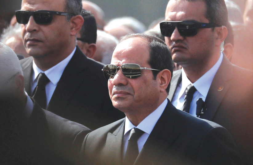 Egypt's president steps up arrests of critics before Biden takes office