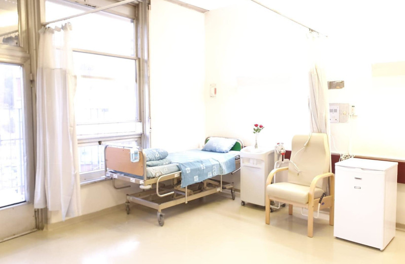 Hospital bed in Hadassah Ein Kerem (photo credit: HADASSAH SPOKESPERSON)