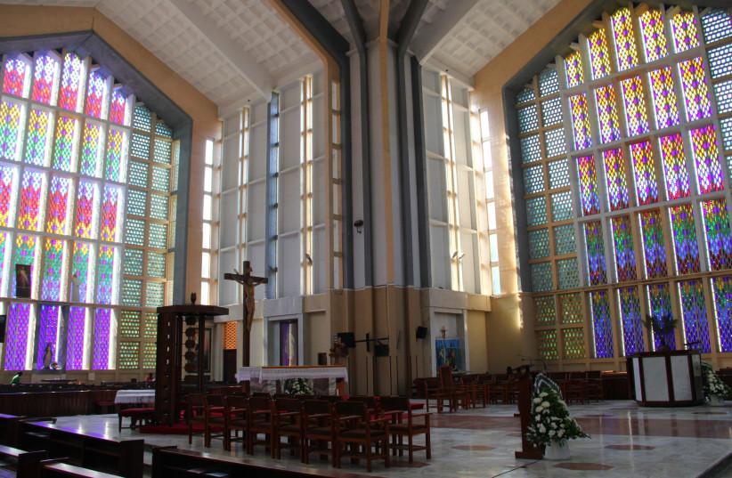 Holy Family basilica (Nairobi, Kenya) (photo credit: Wikimedia Commons)