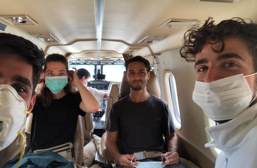 Israelis brought home from Bolivia amid coronavirus pandemic (photo credit: Courtesy)