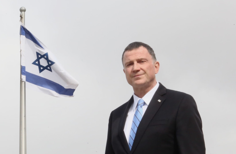 YULI EDELSTEIN: I want to say loud and clear to every Israeli citizen, we all should obey the law. (photo credit: MARC ISRAEL SELLEM/THE JERUSALEM POST)