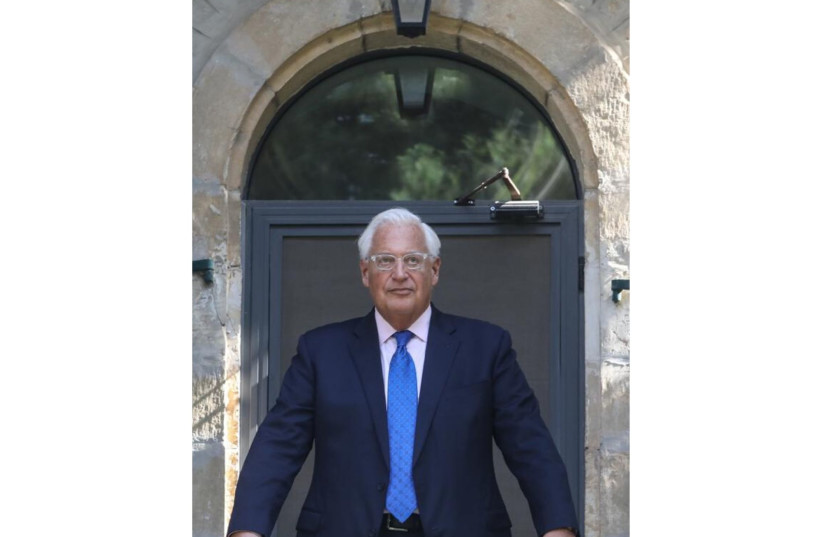 US AMBASSADOR TO ISRAEL DAVID FRIEDMAN ASKS: WHY A VIRUS?