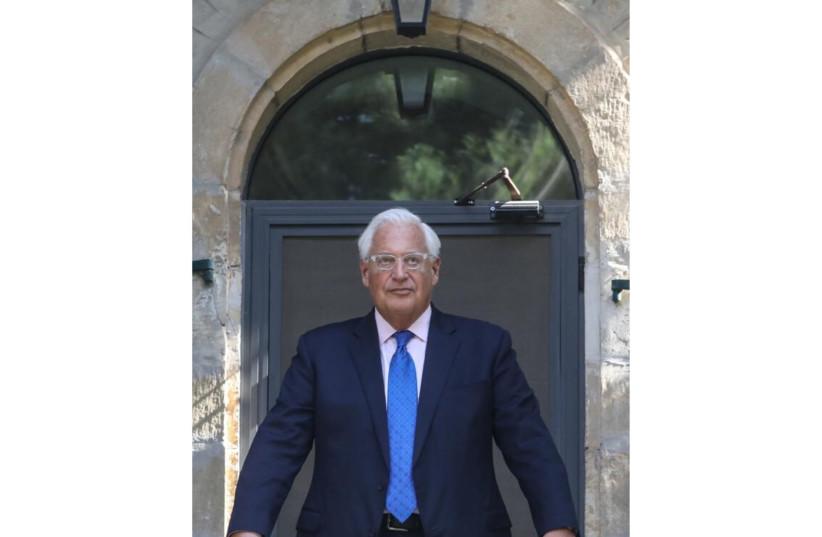 US AMBASSADOR TO ISRAEL DAVID FRIEDMAN ASKS: WHY A VIRUS?