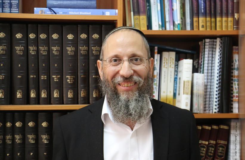 Rabbi Yosef Zvi Rimon (photo credit: Courtesy)