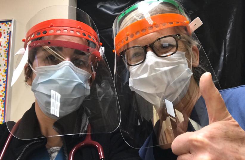 Jewish school 3D prints coronavirus face-shields for health workers