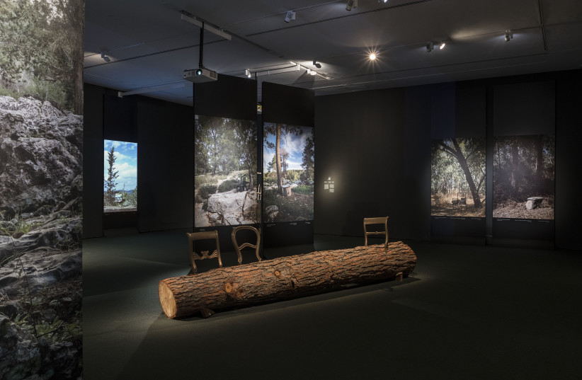 Altogether alone: 'Seated in Seclusion' at the Israel Museum (photo credit: ERAN LEDERMAN)