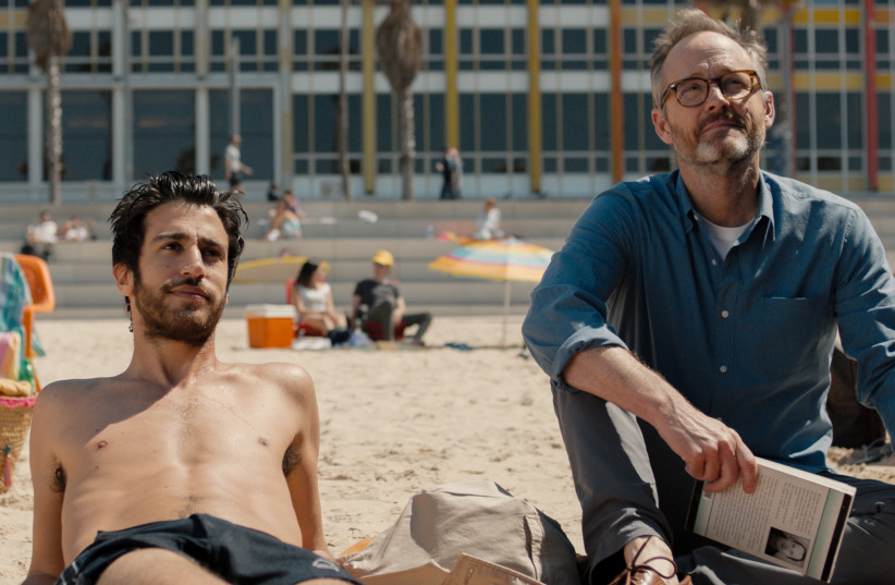 John Benjamin Hickey (right) and Niv Nissim are set to star in the Tel Aviv-based film Sublet from Israeli director Eytan Fox (photo credit: DANIEL MILLER)