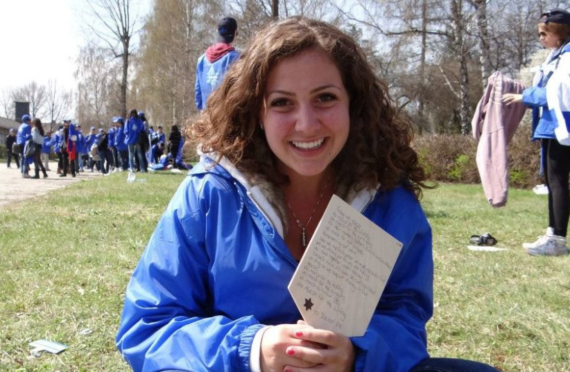 JORDANA LEIBOWITZ, a March of the Living alumnus, was inspired to devote her life to Holocaust education.