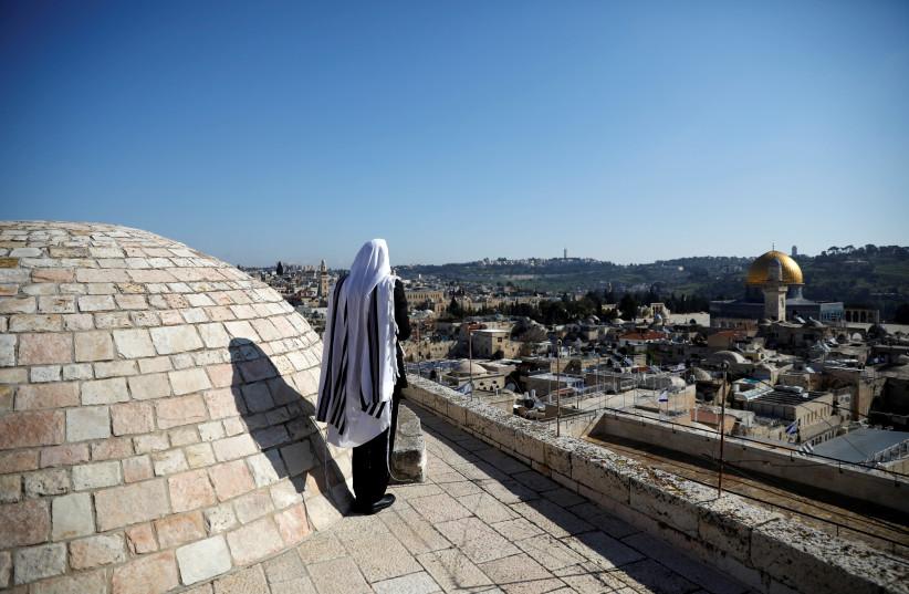 Jewish man praying in Jerusalem  (photo credit: Courtesy)