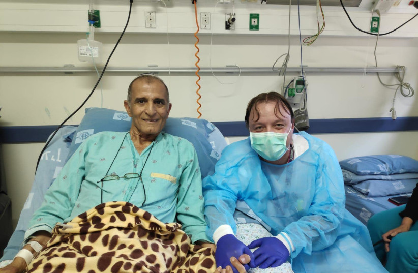 Hadassah Ein Kerem saved the life of this 75-year old cancer patient. (photo credit: Courtesy)