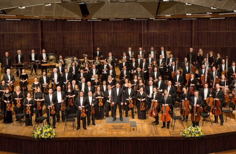 The Israel Philharmonic Orchestra (photo credit: ODED ANTMAN)