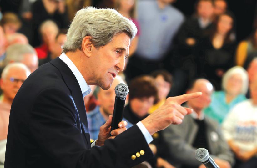 John Kerry (photo credit: REUTERS)